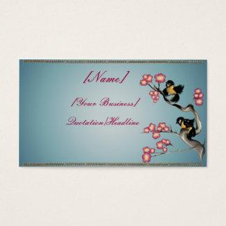 枝profilecard_business_hの2羽のすずめ… 名刺