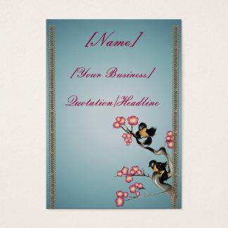 枝profilecard_chubby_verの2羽のすずめ… 名刺
