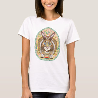 柑橘類のウサギ Tシャツ