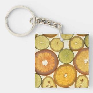 柑橘類の切れ キーホルダー