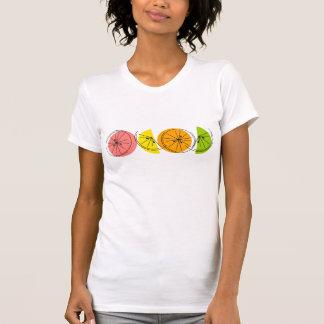 柑橘類の女性のTシャツ Tシャツ