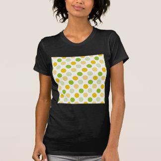 柑橘類の水玉模様 Tシャツ
