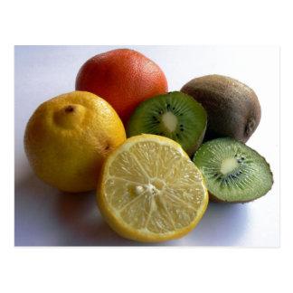 柑橘類の郵便はがき ポストカード