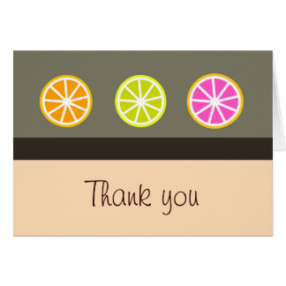 柑橘類はノート感謝していしています カード