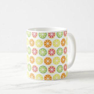 柑橘類パターンコーヒー・マグ コーヒーマグカップ
