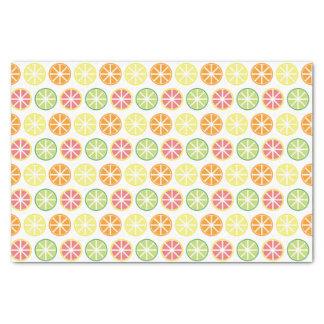 柑橘類パターンティッシュパターン 薄葉紙