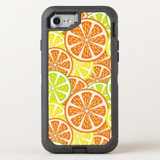 柑橘類パターン2 オッターボックスディフェンダーiPhone 8/7 ケース