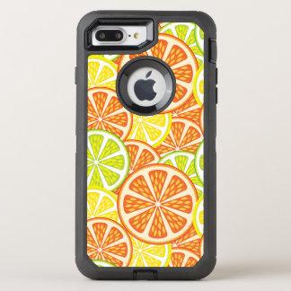 柑橘類パターン2 オッターボックスディフェンダーiPhone 8 PLUS/7 PLUSケース