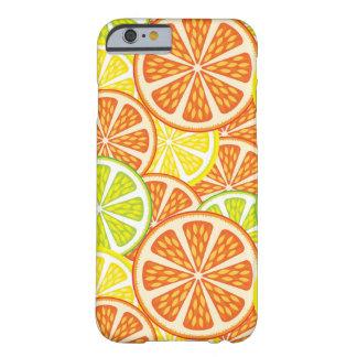 柑橘類パターン2 BARELY THERE iPhone 6 ケース