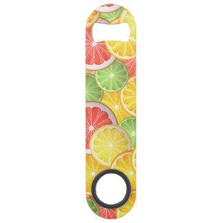 柑橘類パターン-グレープフルーツ、レモン、オレンジライム スピードボトルオープナー