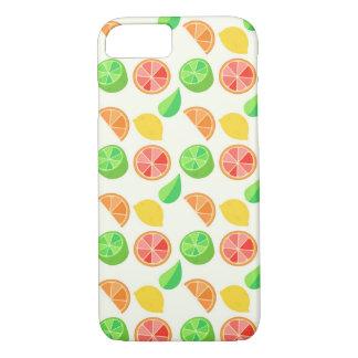 柑橘類パターン iPhone 8/7ケース