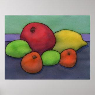 柑橘類及びザクロポスター ポスター