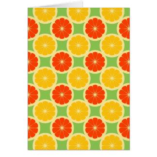 柑橘類 カード