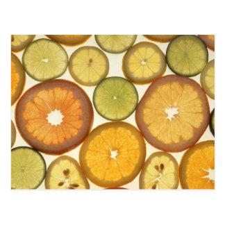 柑橘類 ポストカード
