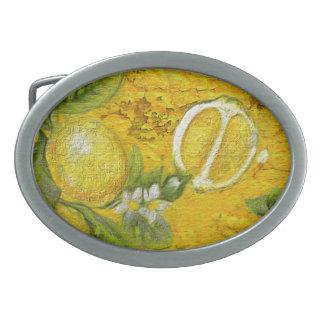 柑橘類 卵形バックル