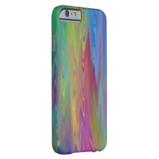 染まる更新済古いガラス虹のタイ BARELY THERE iPhone 6 ケース