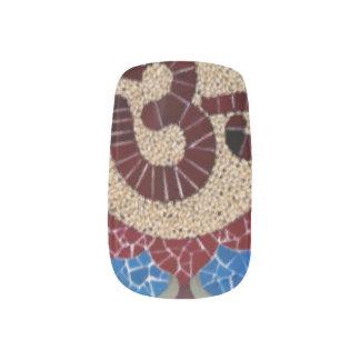 柔らかいオームの曼荼羅のインディの芸術のゲル ネイルアート