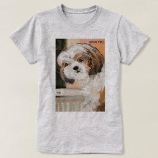 """""""柔らかいシーズー(犬) Tzu """" Tシャツ"""