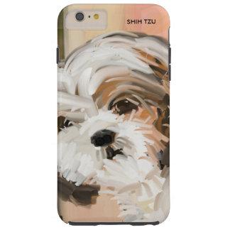 """""""柔らかいシーズー(犬) Tzu """" Tough iPhone 6 Plus ケース"""