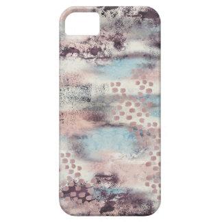 柔らかいタッチの絵画的な電話箱 iPhone SE/5/5s ケース