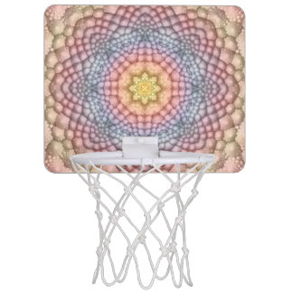 柔らかいパステルの小型バスケットボールバスケ ミニバスケットボールゴール