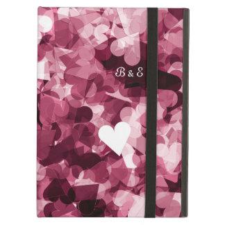 柔らかいピンクのかわいいのハートの背景