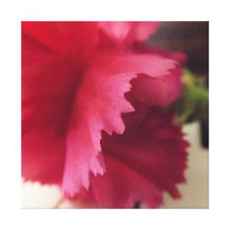 柔らかいピンクのメロディー キャンバスプリント