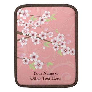 柔らかいピンクの桜 iPadスリーブ