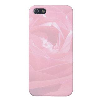 柔らかいピンクの霞は上がりました iPhone 5 ケース