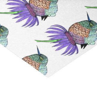 柔らかいベビーのハチドリ 薄葉紙