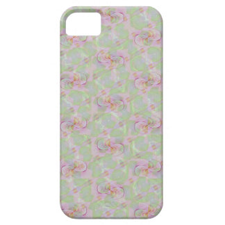 柔らかいヴィンテージの花のタペストリーの電話箱 iPhone SE/5/5s ケース