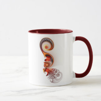 柔らかい優雅 マグカップ