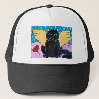 柔らかい天使猫 キャップ