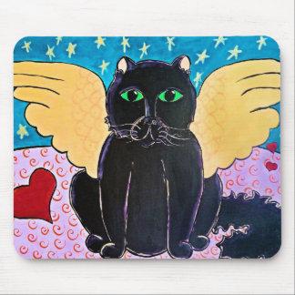 柔らかい天使猫 マウスパッド