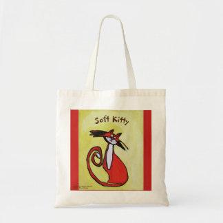 柔らかい子猫-トートバック トートバッグ