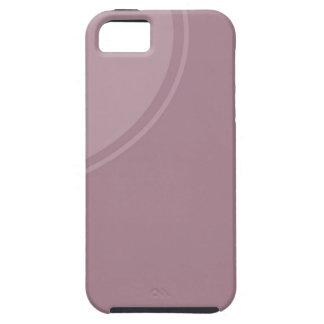 柔らかい挨りだらけの藤色 iPhone SE/5/5s ケース