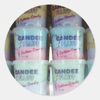 柔らかい綿菓子 ラウンドシール