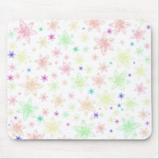 柔らかい花の花 マウスパッド