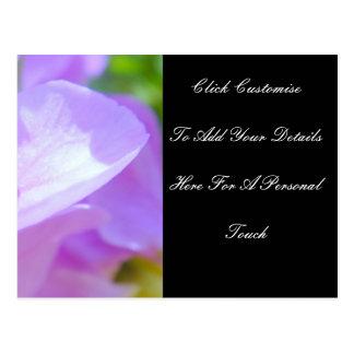 柔らかい花びら ポストカード