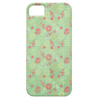 柔らかい花模様 iPhone SE/5/5s ケース