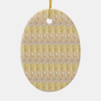 柔らかい金水晶パターン低価格のギフトNVN295 セラミックオーナメント
