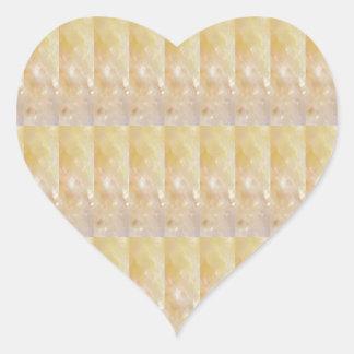 柔らかい金水晶パターン低価格のギフトNVN295 ハートシール