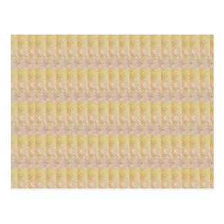 柔らかい金水晶パターン低価格のギフトNVN295 ポストカード