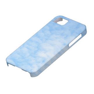 柔らかい雲および青空のiPhone 5の場合 iPhone SE/5/5s ケース