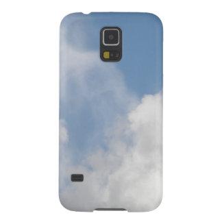 柔らかい雲のSamsungの銀河系の箱 Galaxy S5 ケース