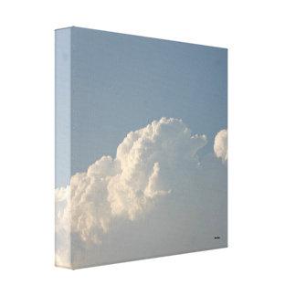 柔らかい雲 キャンバスプリント