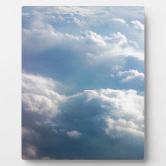 柔らかい雲 フォトプラーク