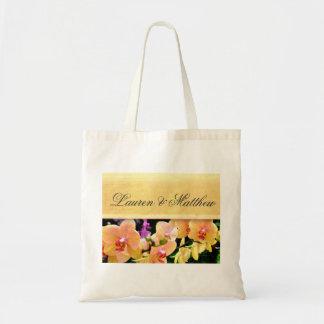 柔らかいbuttercreamの蘭のデザイン トートバッグ