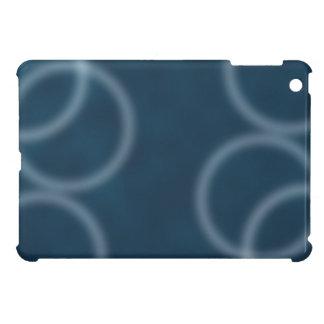 柔らかく健全で青いさざ波のデジタル抽象美術 iPad MINIカバー