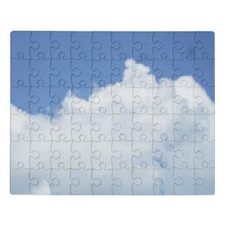 柔らかく白い雲 ジグソーパズル